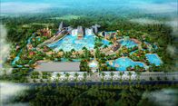 Cina China tai'antheme theme adult amusement house hotspring water theme park resort equipment slides rides projects design p pabrik