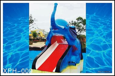 Cina Air Outdoor Pool Slides for Kids, model Gajah Kecil pabrik
