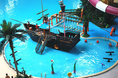 Meter Sea World Cube-Trend Waterpark Project, Besar Indoor Wark Air
